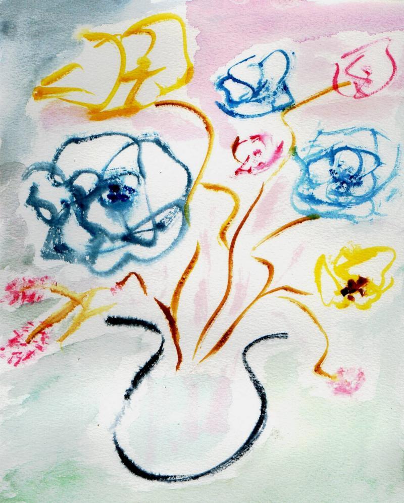Flowers Dufy